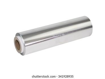 Aluminum Foil isolated