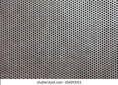 Aluminum grating texture background