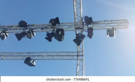 aluminum lighting trussStage Lighting Stands & Aluminum Lighting Truss Images Stock Photos u0026 Vectors | Shutterstock