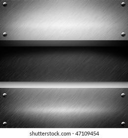 aluminum metal (template background)