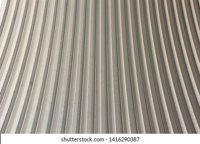 Aluminum roof pattern, Abstract textured background.