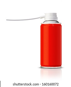 Aluminum spray can, you can use it as painting spray can or Insecticide can. (with clipping work path)