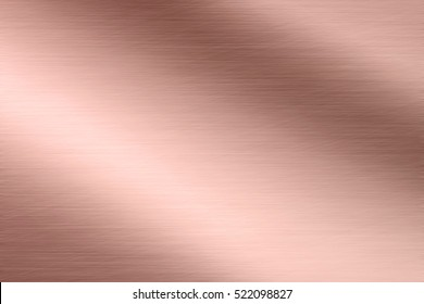 Aluminum texture background with rose gold