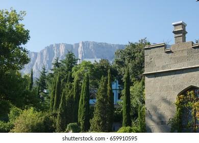 Alupka. Crimea. Russia. August 25. 2011