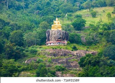 The Aluvihara Rock Temple or Matale Alu Viharaya is a sacred Buddhist temple located in Aluvihare, Matale District of Sri Lanka