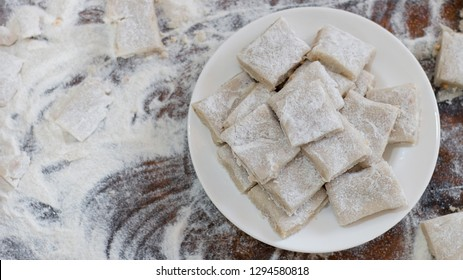Aluwa, a Sri Lankan Sinhala and Tamil New Year Festive Food. Also known as Sinhala and Tamil Avurudhu/Avurudu Sweets.