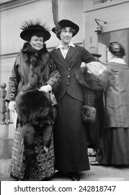 Alva Vanderbilt Belmont and Inez Milholland were wealthy Women's suffrage activists. Belmont was a major funder of the movement to pass the 19th Amendment granting women the right to vote. 1913.