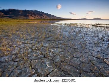 Alvord Desert Playa Lake in eastern Oregon