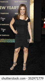 """Alyssa Milano at the Los Angeles Premiere of """"New Year's Eve"""" held at the Grauman's Chinese Theater, California, United States on December 5, 2011."""