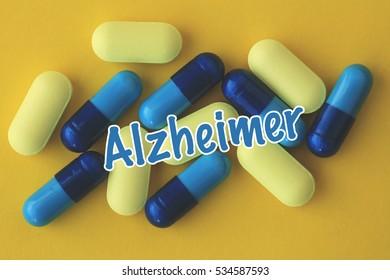 Alzheimer, Health Concept