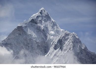 Ama Dablam, Himalaya Range, Nepal.