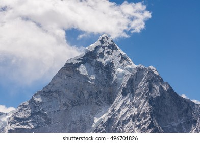 Ama Dablam peak view, Everest region, Nepal