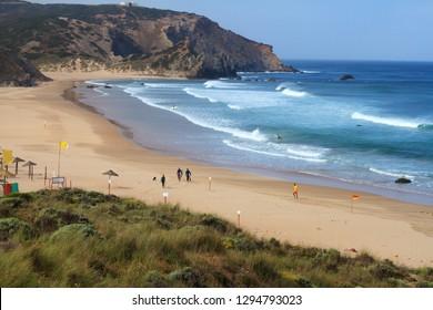 Amado beach, Carrapateira, Algarve, Portugal