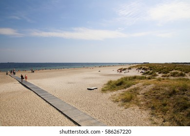 Amager beach in copenhagen