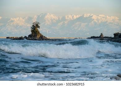 Amaharashi Coast (Toyama Bay, Japan)