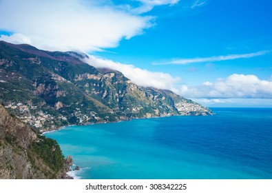 The Amalfi Coast, in Campania, Italy