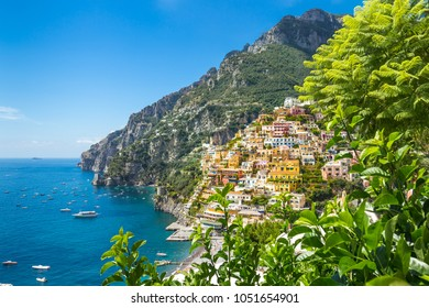 Amalfi Coast, Mediterranean Sea, Italy.