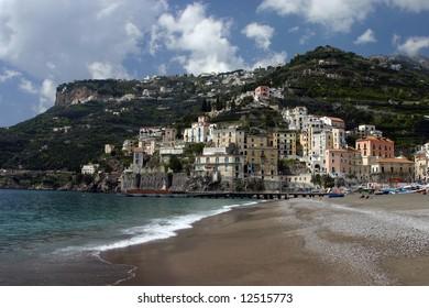 Amalfi coast (Minori), South Italy