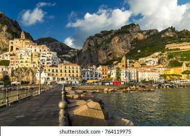 Amalfi, a small town and comune in the province of Salerno, in the region of Campania, Italy, on the Gulf of Salerno