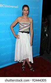 Amanda Peet at the NBCUNIVERSAL Press Tour All-Star Party, The Athenaeum, Pasadena, CA 01-06-12