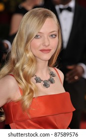 Amanda Seyfried at the 81st Academy Awards at the Kodak Theatre, Hollywood. February 22, 2009  Los Angeles, CA Picture: Paul Smith / Featureflash