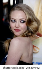 Amanda Seyfried at the Los Angeles premiere of 'Letters To Juliet' held at the Grauman's Chinese Theatre in Hollywood on May 11, 2010.
