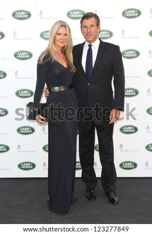 90f6527b07 Amanda Wakeley and Hugh Morrison arriving for the all new Range Rover  unveiling