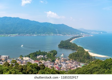 Amanohashidate is one of Japan's three scenic views