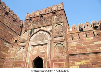 Amar Singh Gate at Agra Fort.