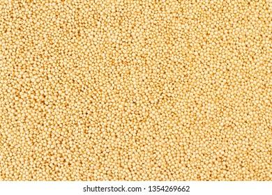 amaranth beans background, super food close-up image
