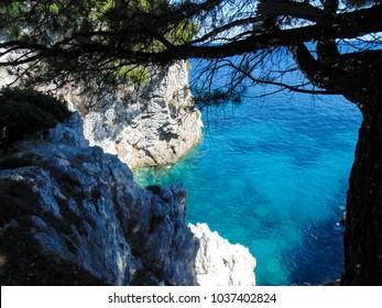 Amarantos cape on Skopelos island, Mamma mia movie location