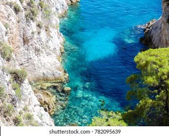 Amarantos cape at Skopelos island