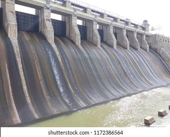amaravathi dam view