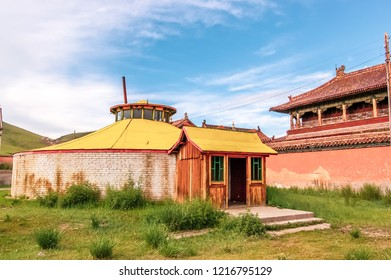Amarbayasgalant Monastery one of three largest Buddhist monastic centers in Mongolia in Iven Valley, Selenge Province, northern Mongolia