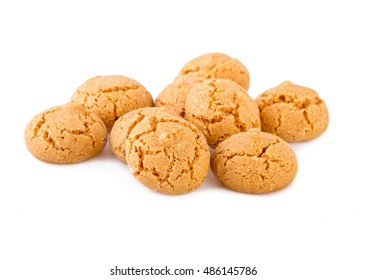 Amaretti cookies traditional Italian biscuits