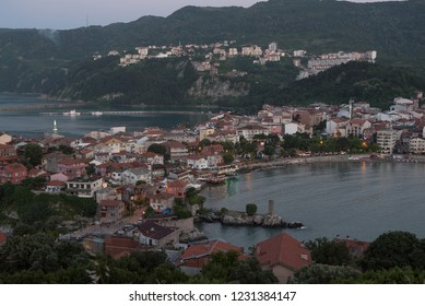Amasra city in the evening, Turkey