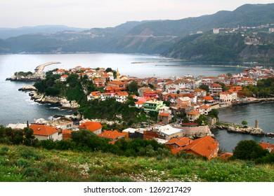 Amasra city Turkey. Black Sea Coast