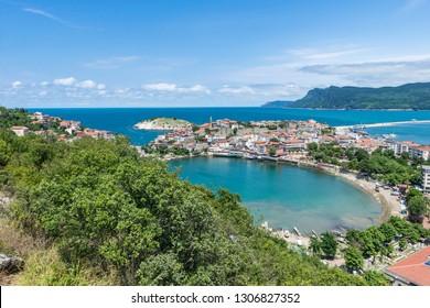 Amasra cityscape - Amasra is a small sea town in Bartin - Blacksea region / Turkey