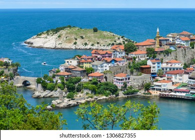 Amasra cityscape - Amasra is a small sea town in Bartin - Blacksea region / Turkey