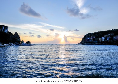 Amasra Cove from the sea