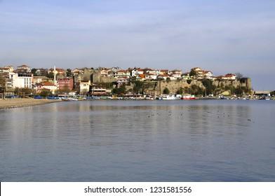 Amasra is a small Black Sea port town in the Bartın Province, Turkey.