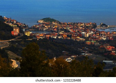 Amasra is a small Black Sea port town in the Bartın Province, Turkey, formerly known as Amastris.