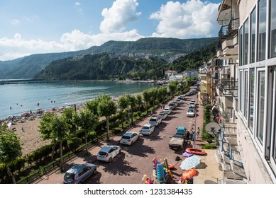Amasra / Turkey - 25 June 2017: Amasra resort is very popular among local tourists in Turkey