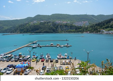 Amasra,Bartin,TURKEY-May 15, 2016: Amasra is a small sea resort town in Bartin - Blacksea region in Turkey .Many domestic and foreign tourists visit every year.