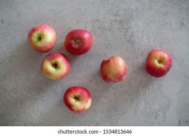 Amasya Elması AKA misket elması, small apples from ancient city of amaseia. Small, red, delicious apples from Turkey.