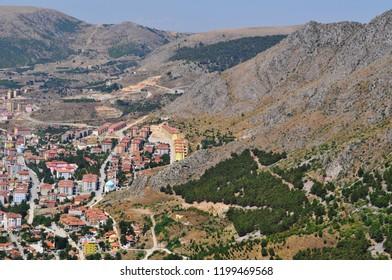 Amasya Castle, Amasya Mountains and City
