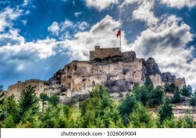 Amasya Castle in Turkey