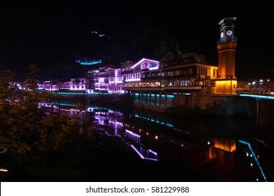 Amasya city night-Turkey