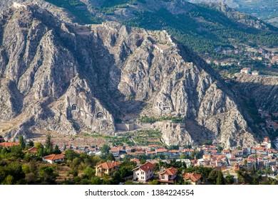 Amasya Mountains, Tombs of the Kings, Amasya, Turkey