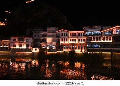 Amasya,Turkey -August  26,2018 : Amasya in Turkey